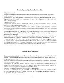 Răspunderea Contravenționala în Dreptul Mediului - Pagina 5