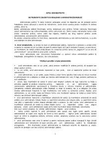Cursuri Drept Administrativ - Pagina 1