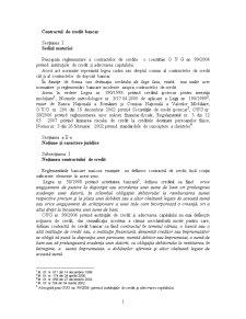 Contractul de Credit Bancar - Pagina 1