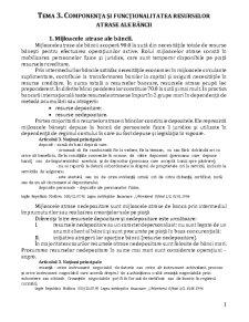 Componența și Funcționalitatea Resurselor Atrase ale Băncii - Pagina 1