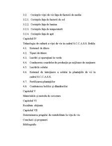 Viticultura Romaneasca - Tehnologia de Cultura a Vitei de Vie si Importanta ei - Pagina 4