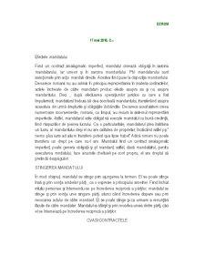 Efectele Mandatului - Pagina 1