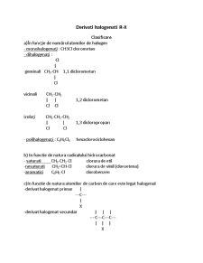 Derivati Halogenati - Pagina 1