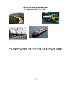 Transportul Produselor Petroliere - Pagina 1