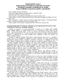Regimul Juridic - Pagina 1