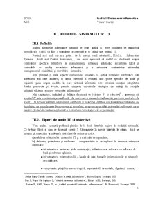 Auditul Sistemelor Informatice - Pagina 1
