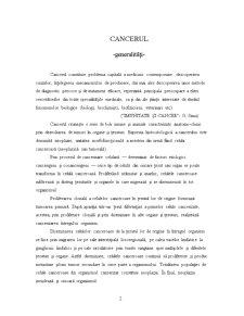 Teoria Genetică a Cancerizării - Pagina 2