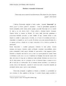 Democrația și Puterea Birocratică - Pagina 2