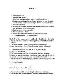 Algebra Liniara si Geometrie Analitica Diferentiala - Pagina 4