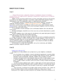Drept Electoral - Pagina 1