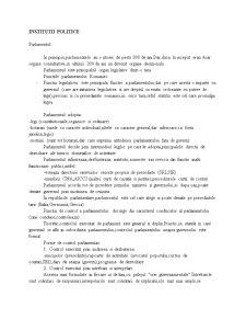 Institutii Politice - Pagina 1