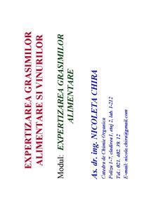 Procedura de Expertizare a Grasimilor - Pagina 1