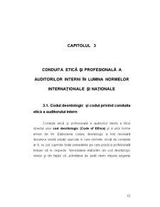 Codul Deontologic al Auditorilor - Pagina 1