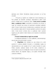 Codul Deontologic al Auditorilor - Pagina 3