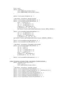 Utilizarea Mouse-ului în Java - Pagina 3