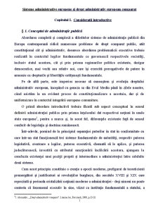 Sisteme Administrative Europene - Pagina 1