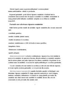 Determinarea Vigorii Semintelor - Pagina 2
