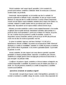 Determinarea Vigorii Semintelor - Pagina 3