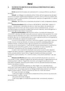 Ingineria Mediului - Aer - Pagina 1