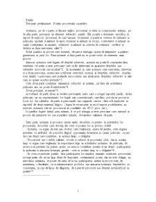 Precizari Preliminare. Pozitia Procesuala a Partilor - Pagina 1
