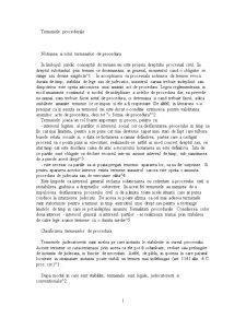 Termenele Procedurale - Pagina 1