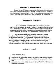 Comparatie Intre Raportul Juridic de Drept Civil si Raportul Juridic de Drept Comercial - Pagina 2