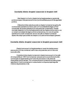 Comparatie Intre Raportul Juridic de Drept Civil si Raportul Juridic de Drept Comercial - Pagina 5