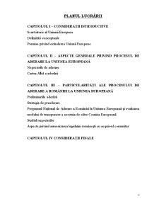 Particularități ale Aderării României la Uniunea Europeană - Pagina 3