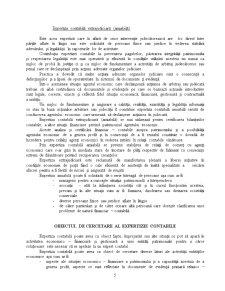 Aspecte Teoretice și Metodologice privind Activitatea de Expertiză Contabilă - Pagina 5
