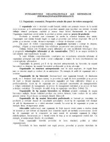 Fundamentele organizaționale ale sistemelor - Pagina 1