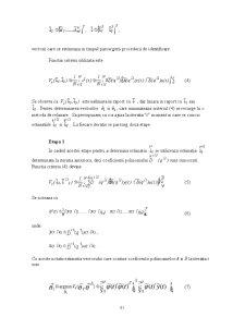 Metoda celor Mai Mici Patrate Generalizata - Pagina 2