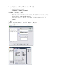 Analiza Informatiilor Utilizand SPSS - Pagina 2