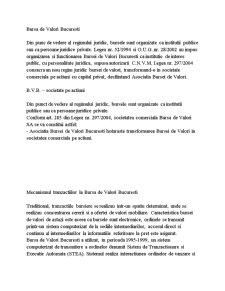 Bursa de Valori Bucuresti - Pagina 1