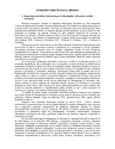Analiza Datelor și Extragerea Cunostiintelor - Pagina 1