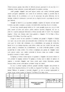 Asigurarea Executării Obligațiilor - Pagina 4