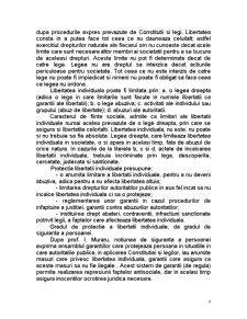 Protectia Internationala a Drepturilor Omului - Libertatea Individuala si Siguranta Persoanei - Pagina 4