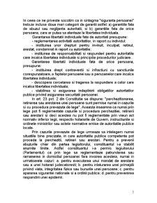 Protectia Internationala a Drepturilor Omului - Libertatea Individuala si Siguranta Persoanei - Pagina 5