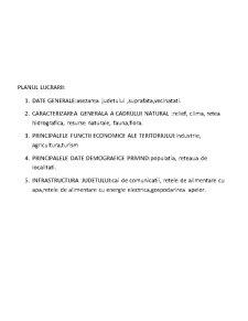 Studii de Caz Privind Indicatorii Necesari Intocmirii Planului de Amenajare a Judetului Teleorman - Pagina 2