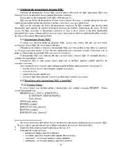 Limbajul SQL - Pagina 2