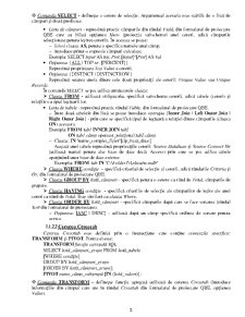 Limbajul SQL - Pagina 3