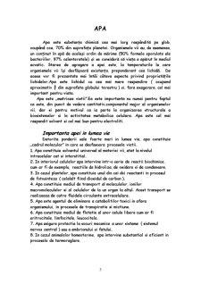 Apa in Sistemele Biologice - Pagina 3