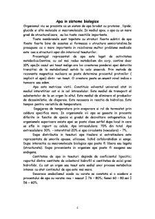 Apa in Sistemele Biologice - Pagina 4