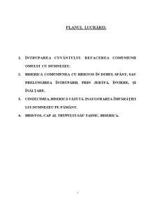 Eclesiologia Ortodoxa - Pagina 1