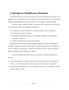 Identificarea Sistemelor prin Metoda Suprafetelor - Pagina 3