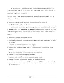 Identificarea Sistemelor prin Metoda Suprafetelor - Pagina 5
