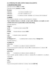 Limbajul de Programare C++ - Pagina 2