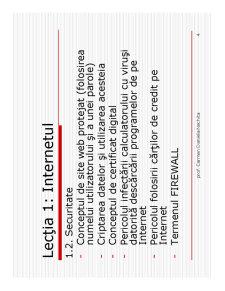 Internet și Poșta Electronică - Pagina 4