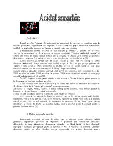 Acidul Ascorbic - Pagina 1