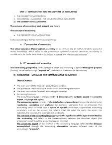 Curs Contabilitate Internationala - Pagina 1