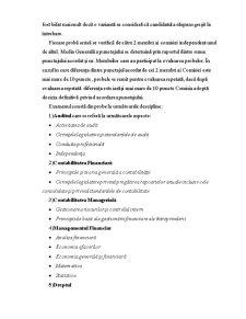 Sistemul de Certificare a Persoanelor Calificate in Domeniul Activitatii Auditului in Republica Moldova - Pagina 5